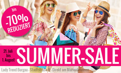 SSV Summer Sale 2015 - bis 70% reduziert - bei Ladytrend